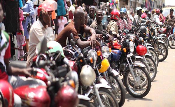 Okada riders in Nigeria